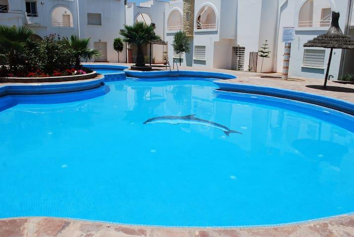 Maison dans residence avec Piscine  - Sidi Bouzid - Ev