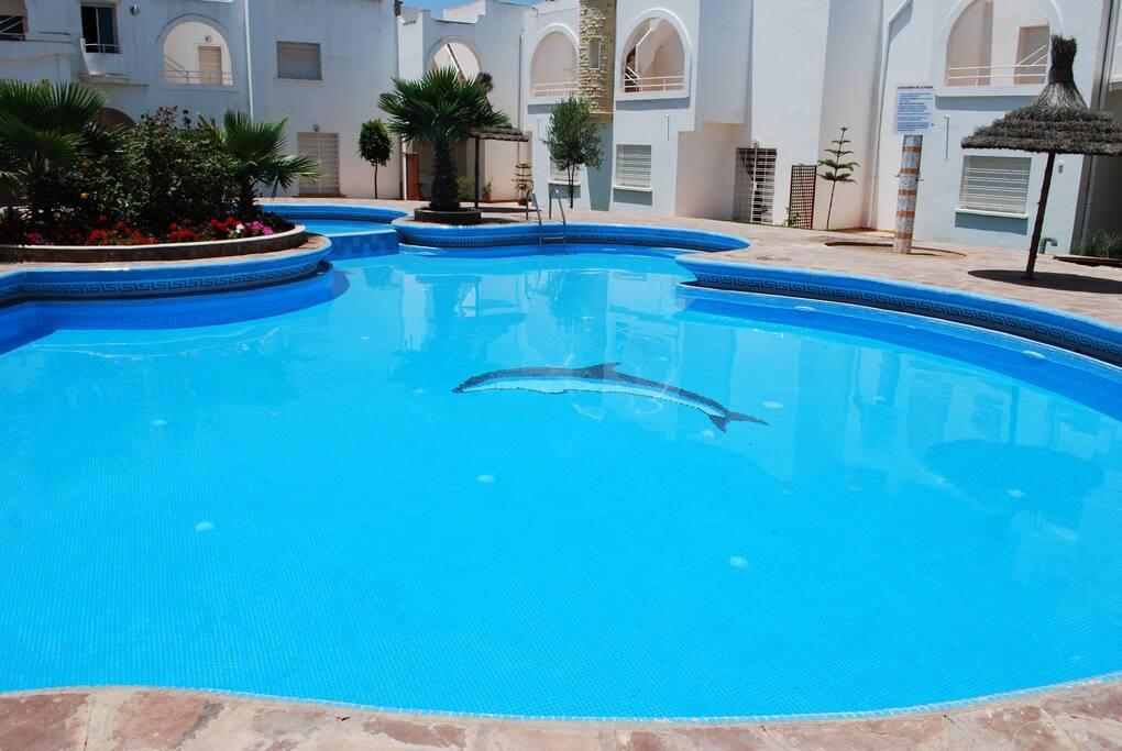 Maison dans residence avec piscine case in affitto a - Residence mohammedia avec piscine ...