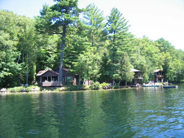 Adirondack Lakefront Property, Blue Mountain Lake
