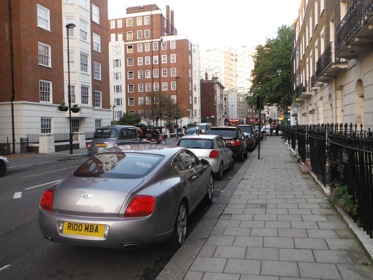 Kendal St to Edgware Rd