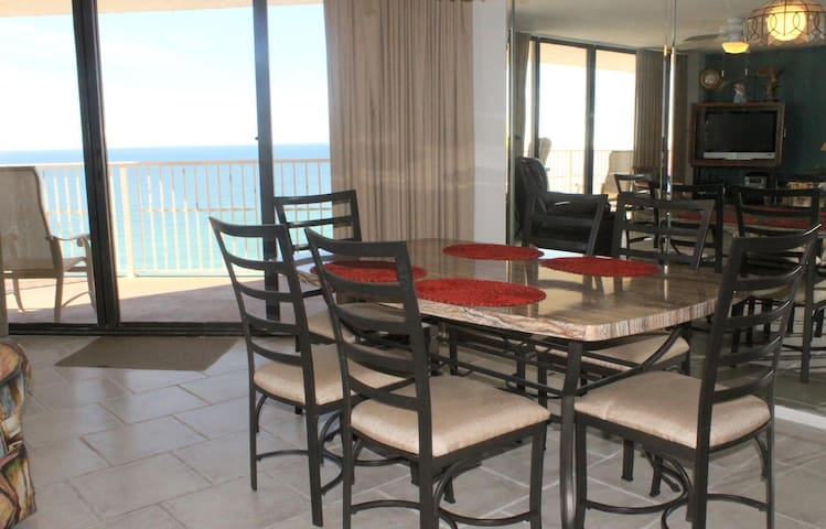 E1501 Dunes of Panama - Playin Hooky - One of a Kind Gulf Front Views, 1500 Square feet of Beach Front, Three Shared Pools - Sleeps 10