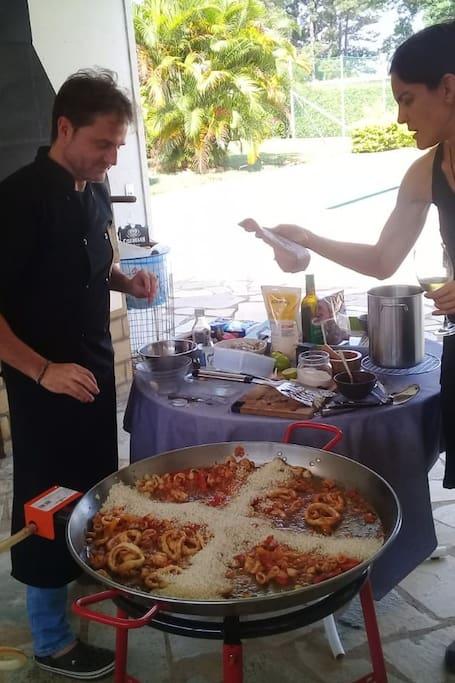 fundamental: arroz bomba  da Espanha