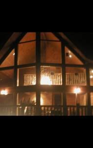 A beautiful cedar A frame Cabin - Sedona