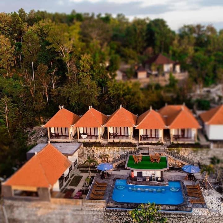 Nusa Penida Hill 4 Adult ABasan Pool Breakfast