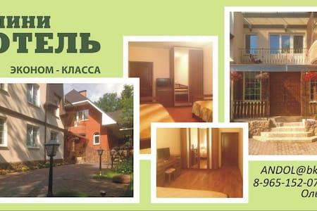 Мини Отель рядом со Сколково - Nemchinovka - Bed & Breakfast