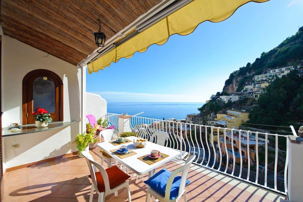 Casa bella houses for rent in positano campania italy for Casa bella homes