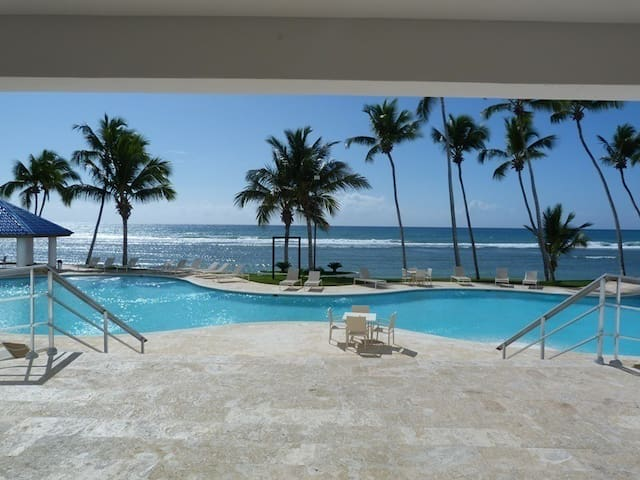Apartamento en primera linea de playa. - Playa Juan Dolio - Pis
