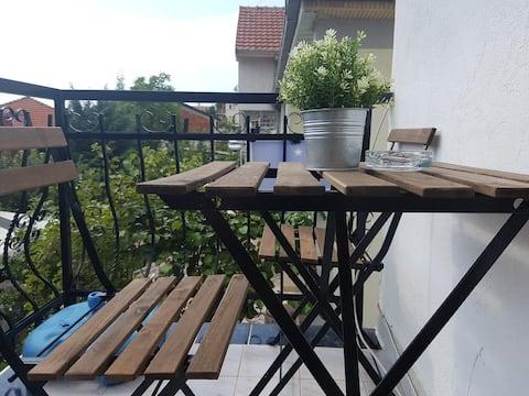 Villa Klibo Apartment mit Balkon