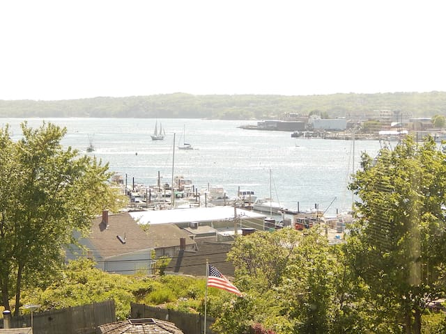 View of out of Harbor from the house