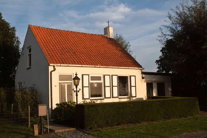 Charmant Boerderijtje Bakkersdam - Oostburg - Casa