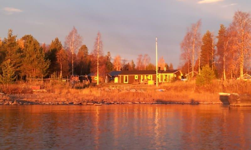 Vackert boende vid havet - Luleå - Huis
