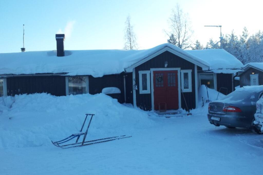 Framsidan/Front of the house