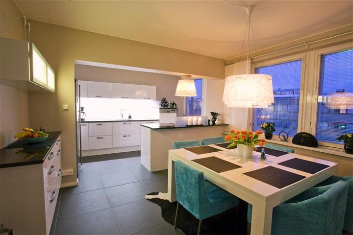 Luxurious city-centre apartment - Rovaniemi - Pis