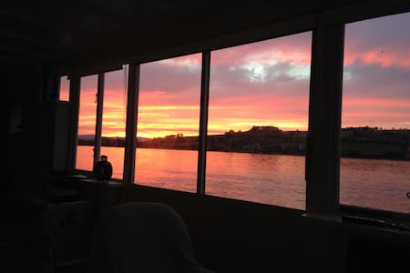 Waterside cottage with amazing views & use of boat - Combeinteignhead - Дом