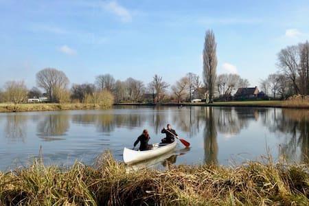 ~ BREATHE ~ Sleep In A Park Along The Leie River - Afsnee, Ghent  - House