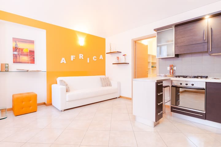 Central stylish apartment (Viacolvento Africa) - Turin