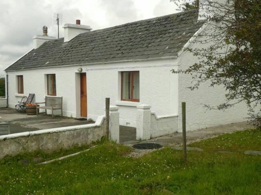 Cottage front.