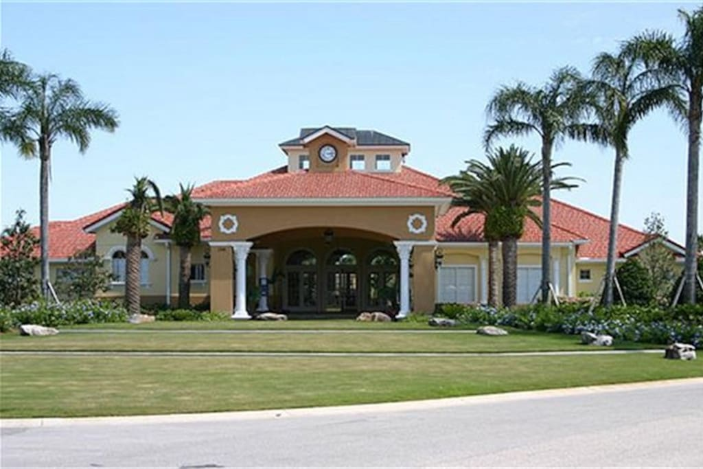 7 Bedroom Mansion In 5 Star Resort Houses For Rent In Kissimmee Florida United States