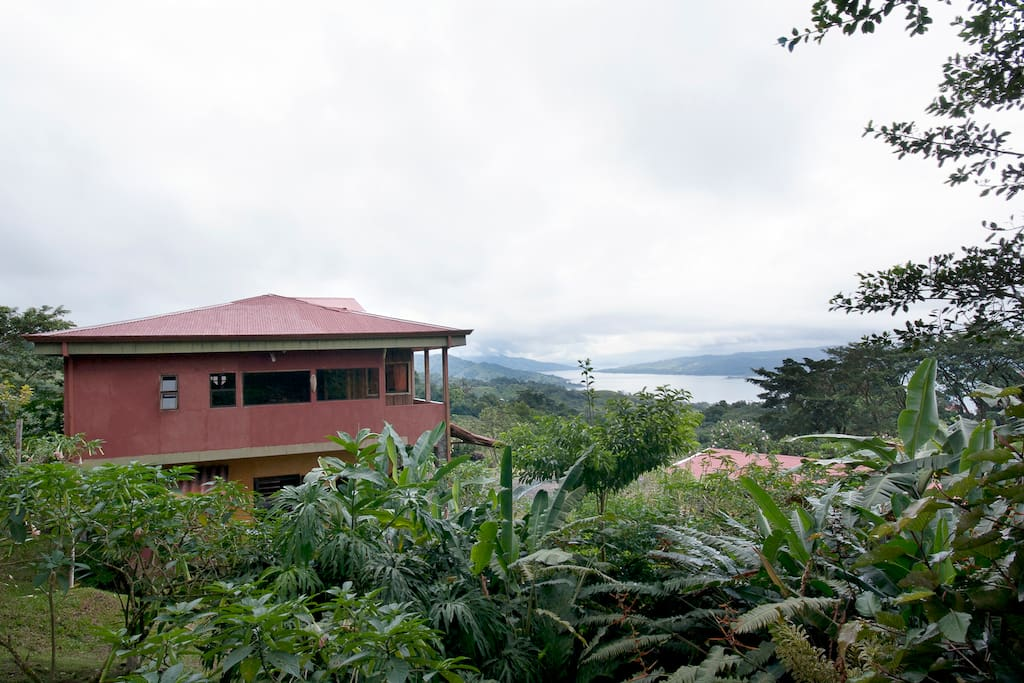 Guest Ranch house-Peaceful and forever green- sits  high spot with endless views.