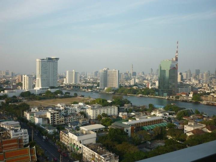 1BR for 4, ICONSIAM, RIver Side, BTS KrungThonburi
