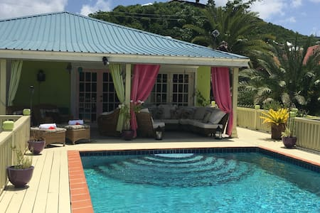 Traditional Caribbean Villa with Private Pool - Saint John's - Villa