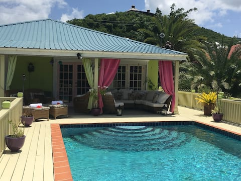 A beautiful Caribbean villa with private pool.