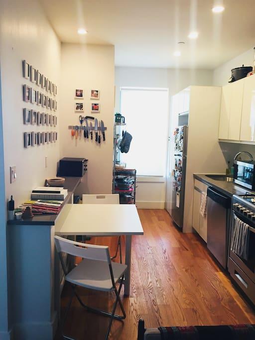Kitchen + Dining Room (1/2)