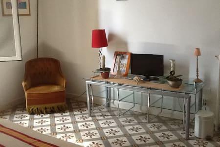 Grande Chambre avec sdb&wc sur pallier à 2m ! - Cuxac-d'Aude - Bed & Breakfast