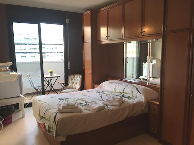 Suite Doble Poblenou privada cerca  de la playa.