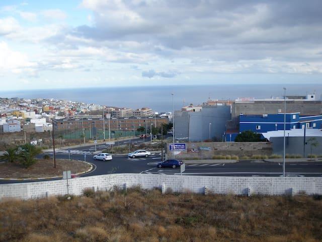 Balcón sobre Gran Canaria