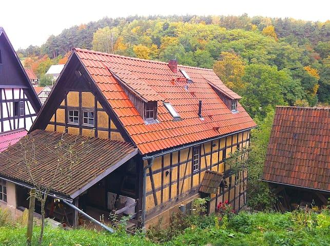 Urlaub/Rückzug Schloßkulm Thüringen - Uhlstädt-Kirchhasel - House