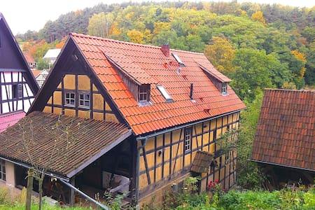 Urlaub/Rückzug Schloßkulm Thüringen - Uhlstädt-Kirchhasel - Rumah