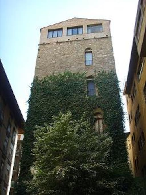 4th floor of Belfredelli 12th century tower.
