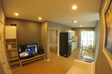 2 bed room and living room, Wifi - Bueng Kum - 公寓