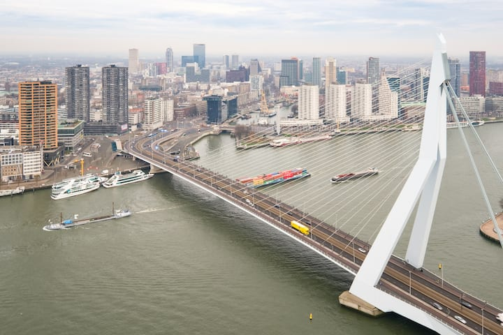Best Rotterdam overview apartment nearby ESF 2021