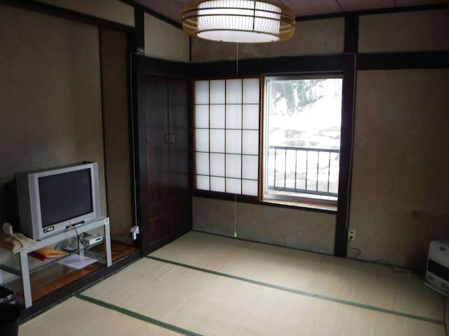 """ケセパセ 部屋名「くつかけ」 KesePase room name """"Kutsukake"""" - Otari, Kitaazumi District - Casa de huéspedes"""