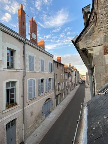 Pause paisible à Blois «comme à «BROOKLYN» N6