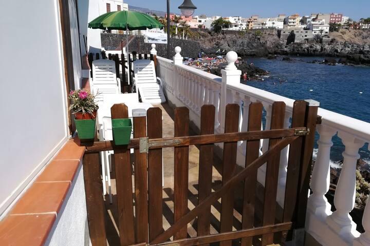 Acogedor estudio en Alcalá a orilla de mar