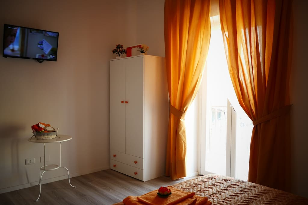 La camera arancio