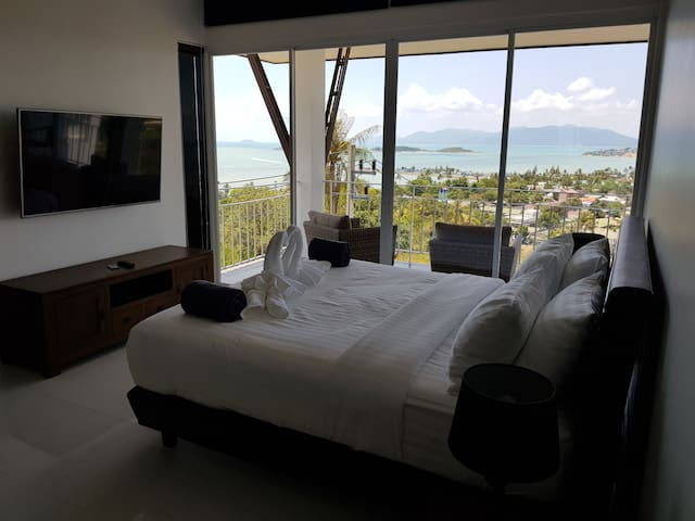 ⭐️⭐️⭐️⭐️⭐️  Luxury Sea View Penthouse in Koh Samui
