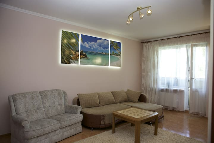 Studio-apt. with 1 bedroom. Wi-Fi - Cherkasy - Apartamento