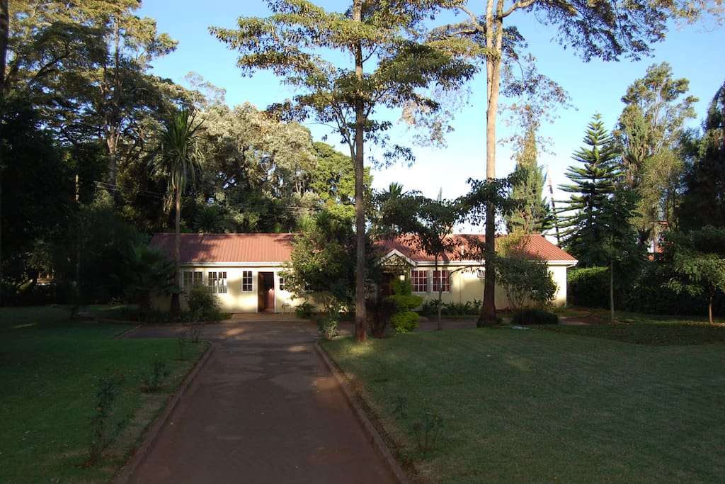 Makena's Place is a gorgeous wooden cottage surrounded by mature trees