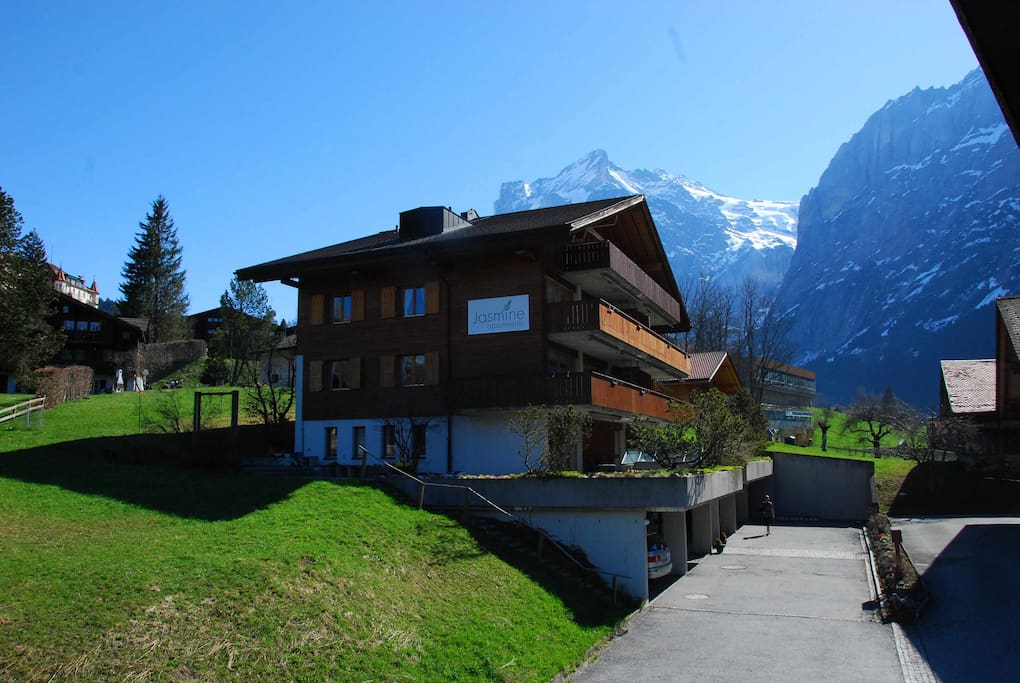 Apartment Jungfrau, located in the lovely Chalet Jasmine