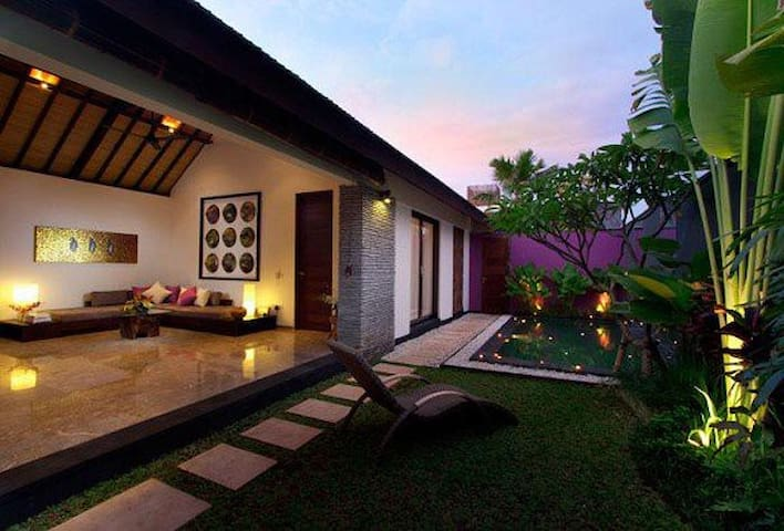 Beautiful 1 bedroom villa with pool - Tabanan - Vila