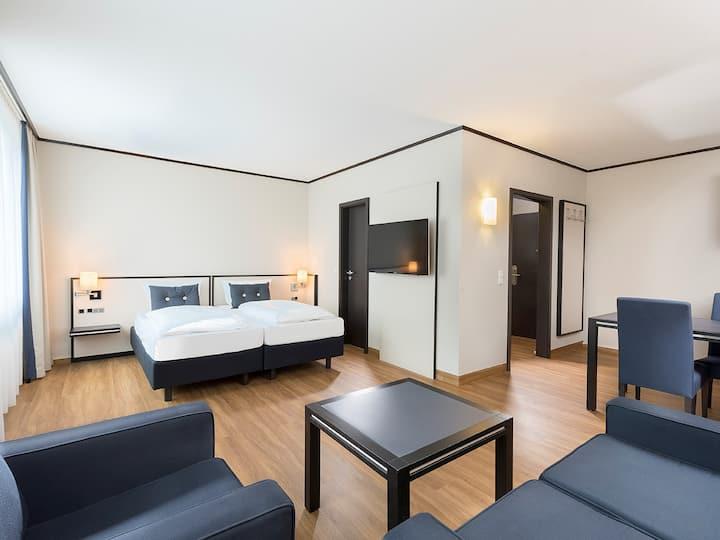 Seminaris Hotel Bad Honnef, (Bad Honnef), Apartment mit 30qm, 1 Wohn-/Schlafzimmer, max. 3 Personen