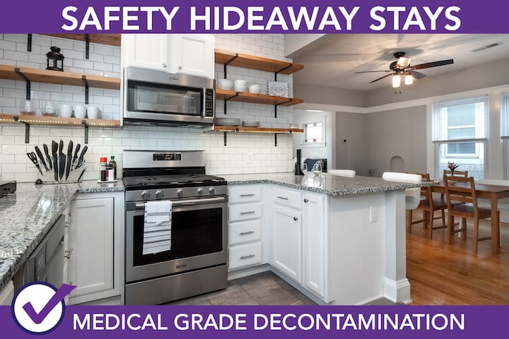 Safety Hideaway - Medical Grade Clean Home 110