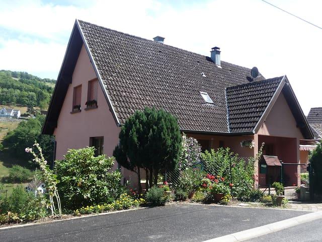 GITE 4 pers. 5 km KAYSERSBERG 68 calme photo ETE - Fréland - Dom