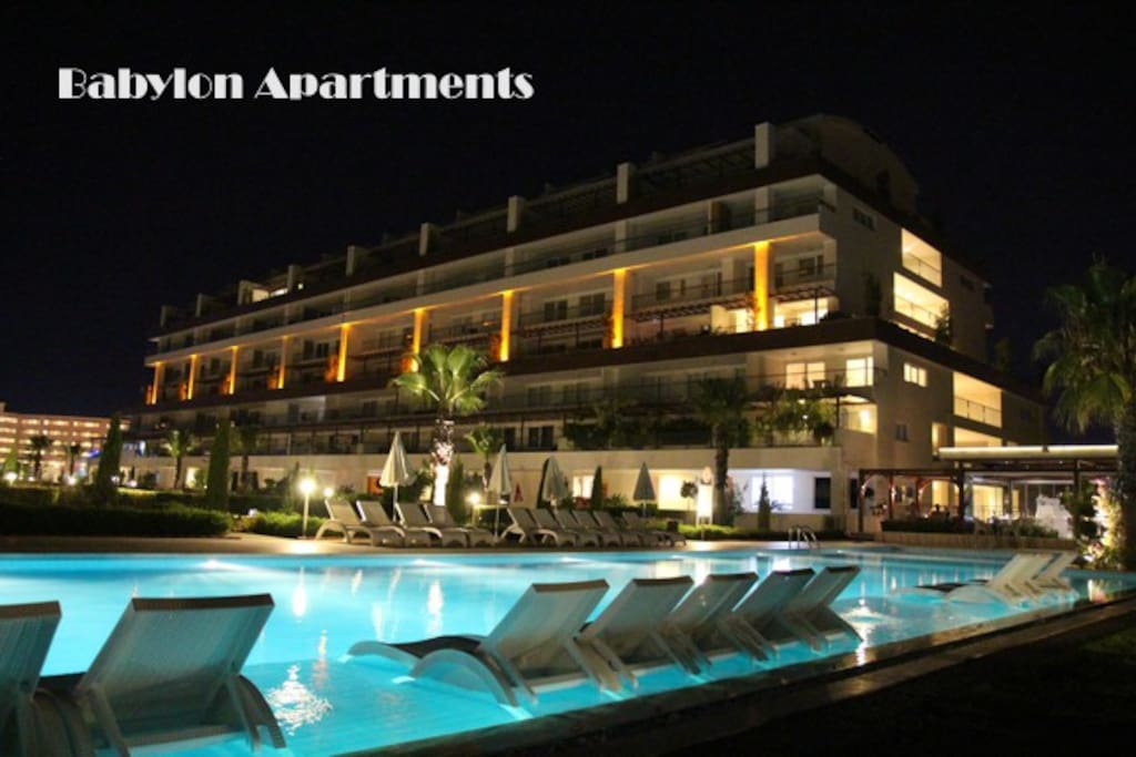 Babylon Apartments - Side - Kumköy