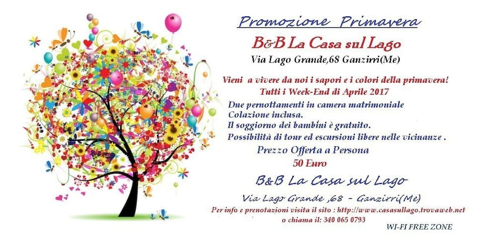 B&B LA CASA SUL LAGO - Messina - Bed & Breakfast