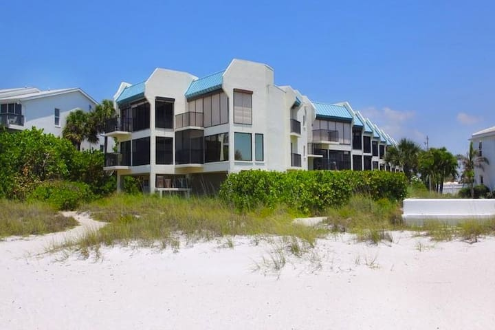 Beach Front Condominium on Anna Maria Island